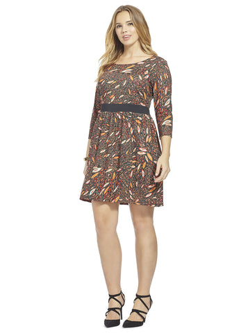 Marquise Printed Chelsea Dress