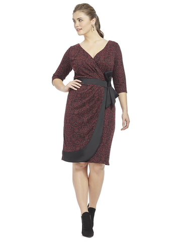 Nicole Dress in Jacquard