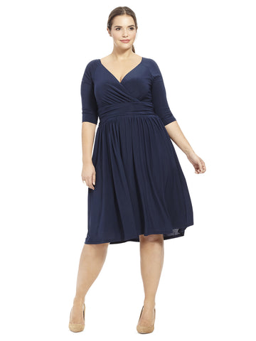 Steph Dress in Navy