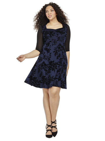 Navy Midnight in Paris Dress