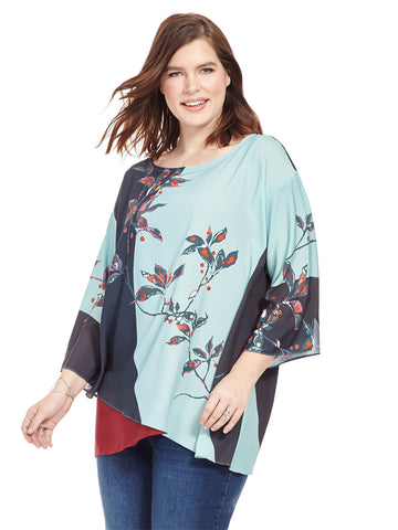 Layered Tunic In Floral