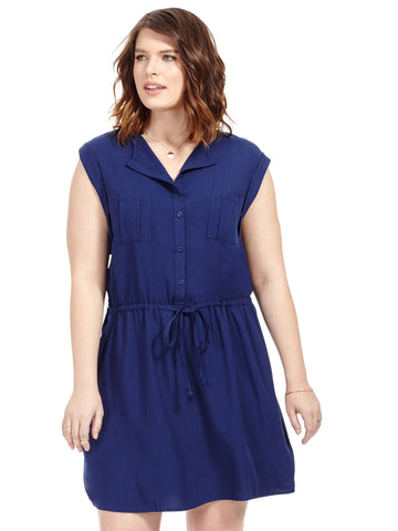 Merrian Drawstring Dress