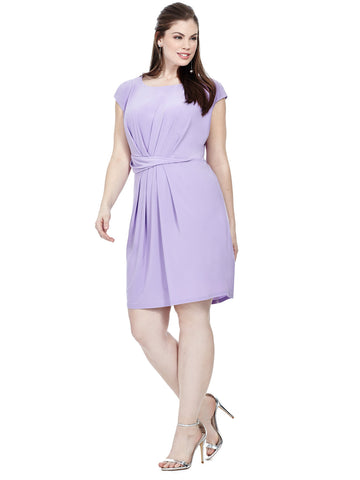 Violet Ruched Waist Dress