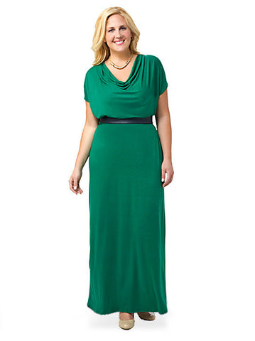 Natasha Dress Emerald