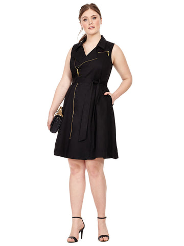 Sharp Utility Dress