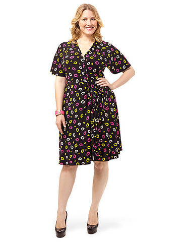 Jersey Wrap Dress In Print