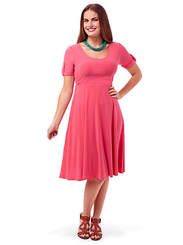 Maxine Dress In Coral