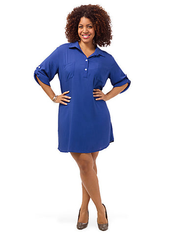 Evan Tunic In Blue