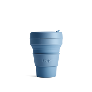 Stojo 12oz Collapsable Pocket Cup - Steel