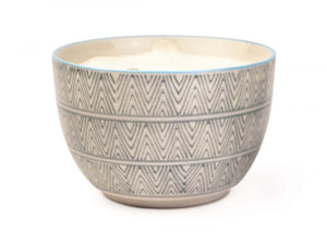 12.5oz Ceramic Bowl Candle - SEA SALT & SAGE - The Wild Tree