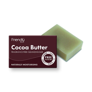 Cocoa Butter - Fragrance Free Facial Cleansing Bar