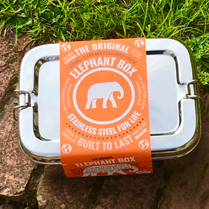 Elephant Box - Large Stainless Steel Lunch Box - The Wild Tree