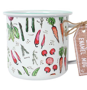 Gardeners Enamel Mug - The Wild Tree