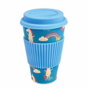 Bamboo Travel Mug - Magical Unicorn