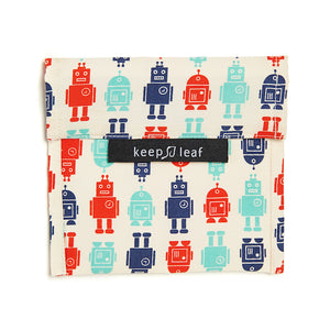 Robot Large Baggie - Snack Bag