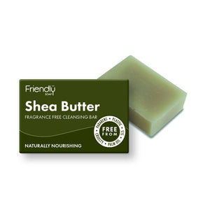 Shea Butter - Fragrance Free Facial Cleansing Bar