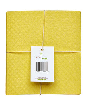 Compostable Sponge Cleaning Cloths - 4 Pack