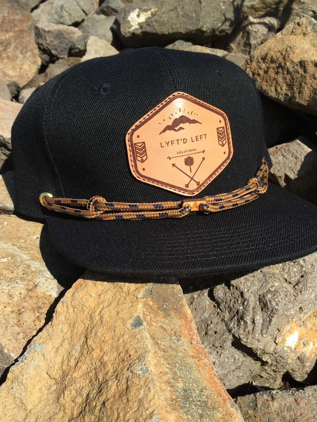 Black/Tan/Navy Lyft'D Lid - Findlay Collab