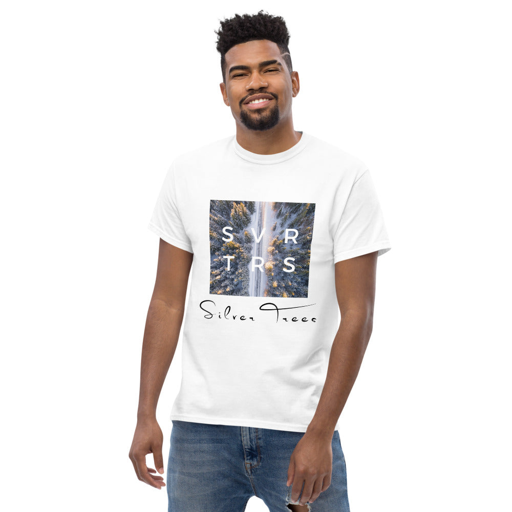 """From The Farm"" Silver Trees T-Shirt"