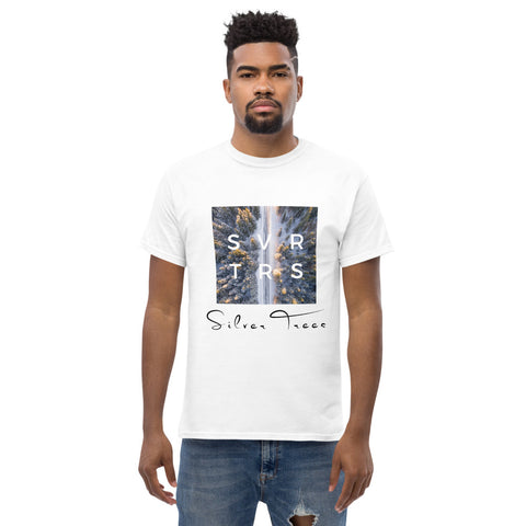 """From The Farm"" Silver Trees ""ST"" T-Shirt"