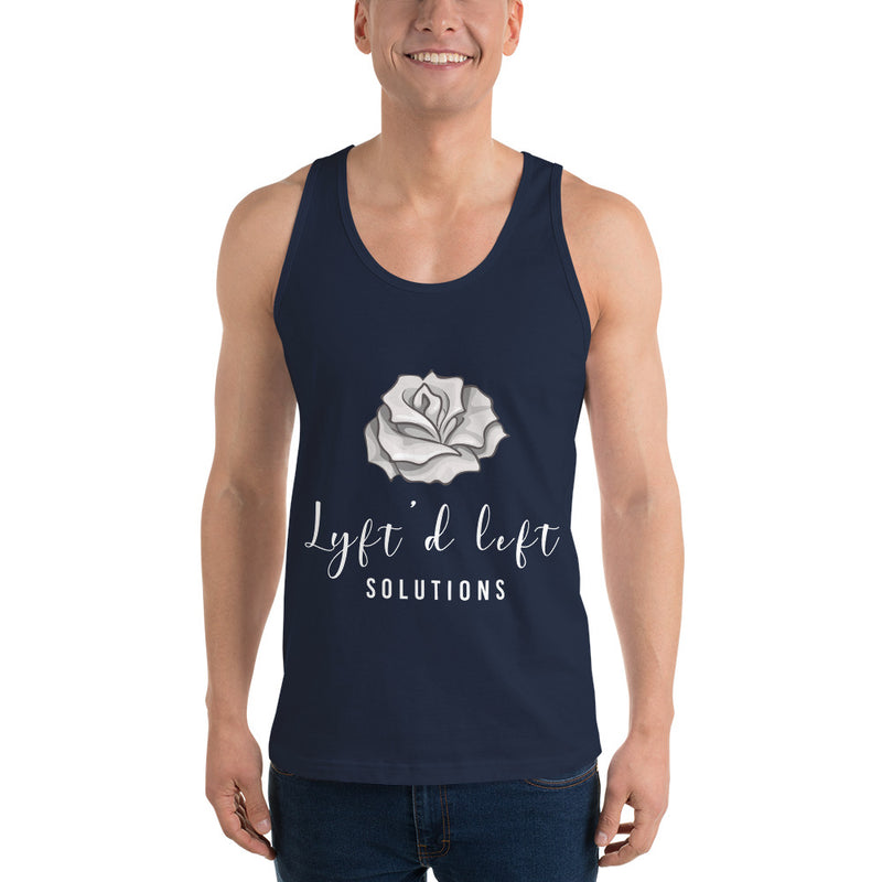 Guy's LYFT'D Roses Tank Top