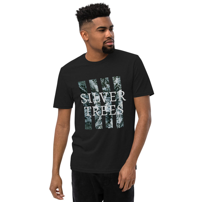 """From The Farm"" Silver Trees ""Frosty Tops"" T-Shirt"