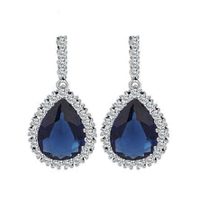 Load image into Gallery viewer, Annabelle Earrings Blue