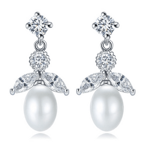 Katie Freshwater Pearl Drop Earrings