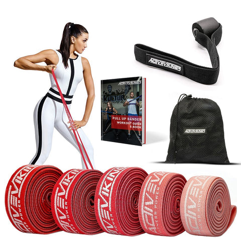 ActiveVikings® Stoff - Pull Up Band Set Valkyrie Edition