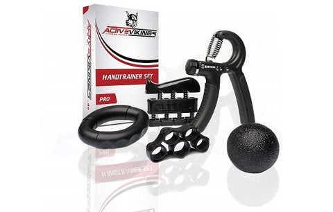 ActiveVikings® 5-in-1 Handtrainer Fingertrainer Set
