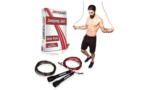 ActiveVikings® Springseil | Jumping Rope