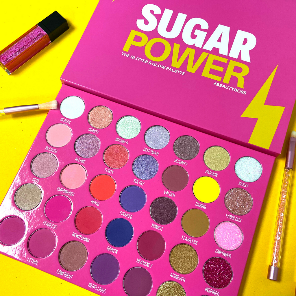 Introducing Our Sugar Power Palette ⚡