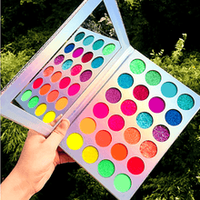Load image into Gallery viewer, The Neon Sugar Ultra Glitter Palette