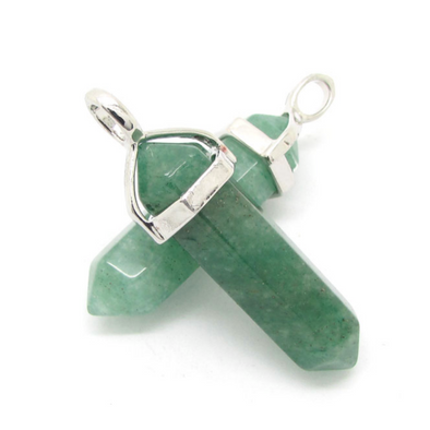 The Luck Stone - Green Aventurine Power Up Pendant ⚡