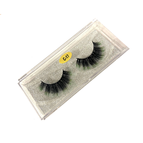 Pretty Green Eyes Beauty Power Lash C-17