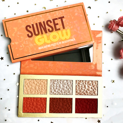 Sunset Glow Up - Highlighting Shimmer Palette