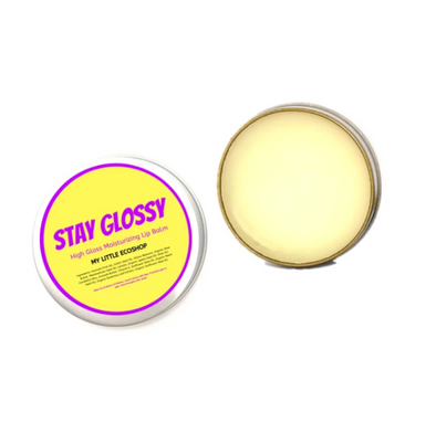 Plastic-Free Stay Glossy - High Gloss Moisturizing Lip Balm