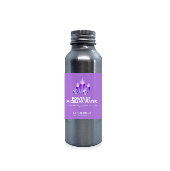 Plastic-Free Power Up Lavender Micellar Water