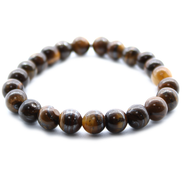 Emotional Healer Tigers Eye Power Bracelet  ⚡