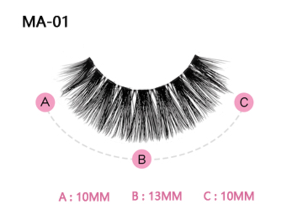 The Aurora Pink Boudoir Beauty Boss Lashes #MA01