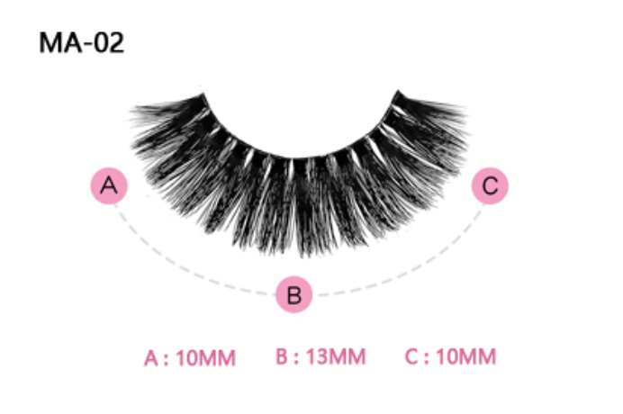 The Valentina Pink Boudoir Beauty Boss Lashes #MA02