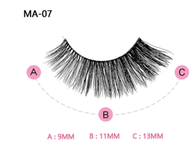The Brianna Pink Boudoir Beauty Boss Lashes #MA07