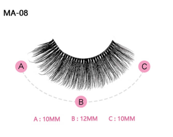 The Lucy Lou Pink Boudoir Beauty Boss Lashes #MA08