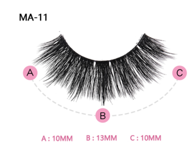 The Sasha Boudoir Beauty Boss Lashes #MA11