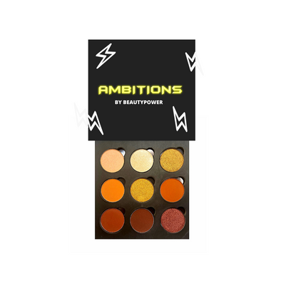 Plastic-Free The Ambitions Palette - Refillable Pans ⚡