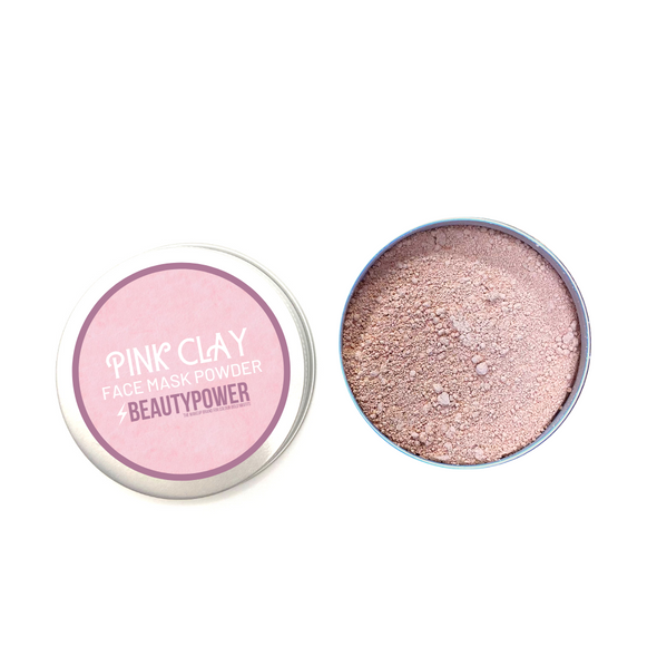 100% Pure Pink Clay Facemask Powder