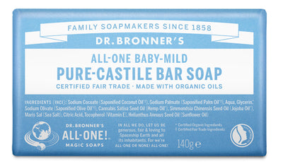 Baby Unscented - Pure-Castile Bar Soap - baby-unscented-pure-castile-bar-soap
