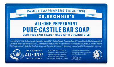 Peppermint - Pure-Castile Bar Soap - peppermint-pure-castile-bar-soap