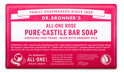 Rose - Pure-Castile Bar Soap - rose-pure-castile-bar-soap