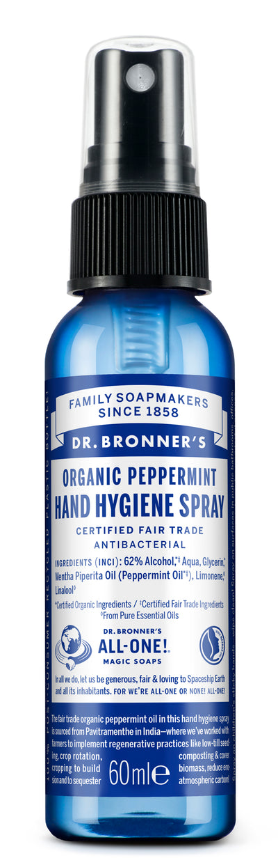 Peppermint - Organic Hand Hygiene Spray - peppermint-organic-hand-hygiene-spray